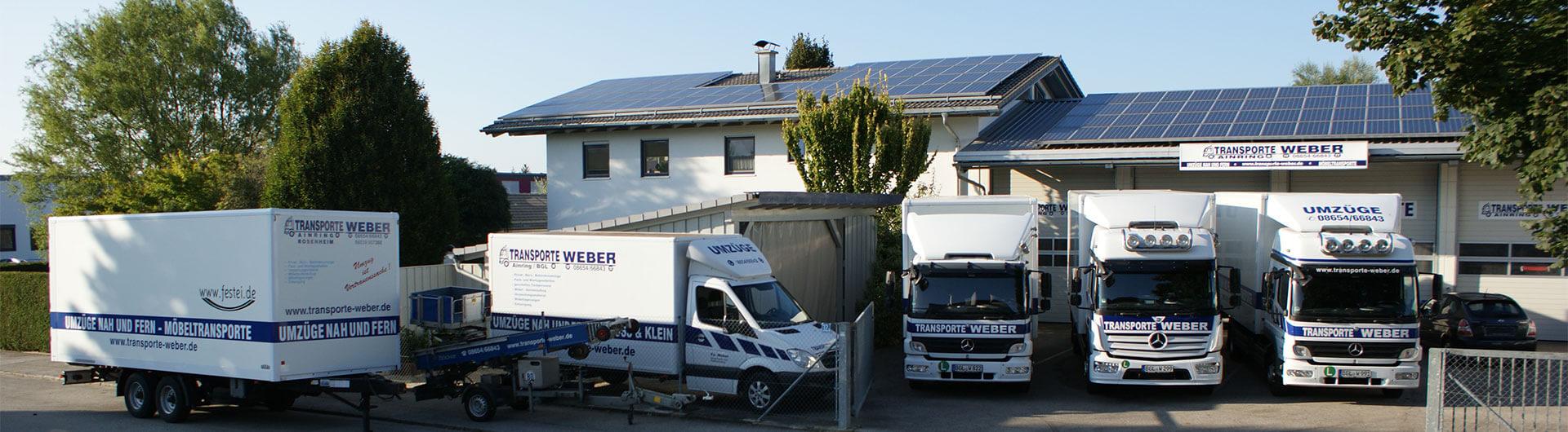 Transporte Weber